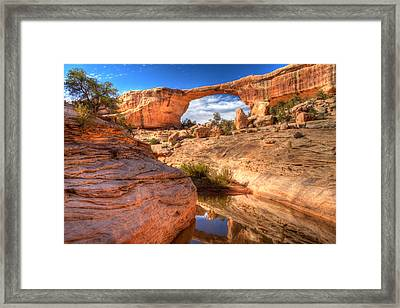 Natural Bridges National Monument Framed Print