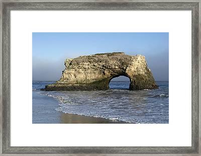 Natural Bridges State Park - Santa Cruz - California Framed Print