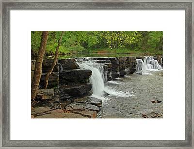 Natural Dam Framed Print by Ben Prepelka