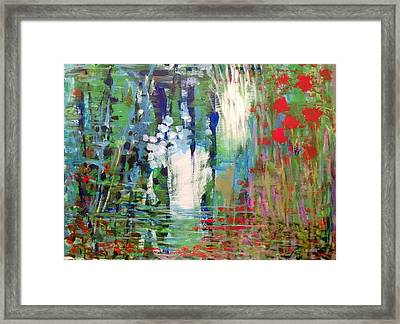 Natural Depths Framed Print