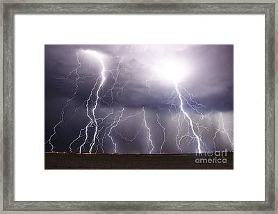 Natural Fury Framed Print