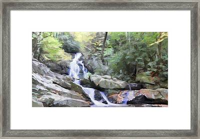 Natural Haven Framed Print by Dan Sproul