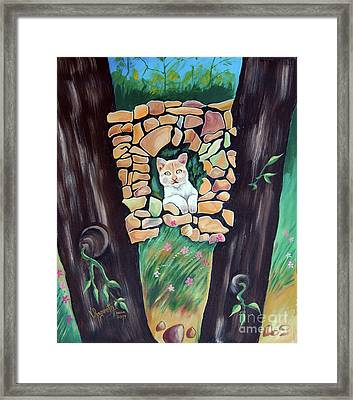 Natural Home Framed Print by Ragunath Venkatraman