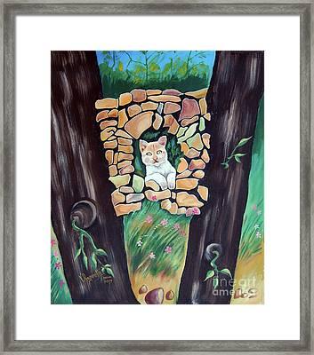Natural Home Framed Print
