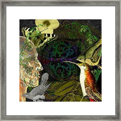 Natural Man Framed Print