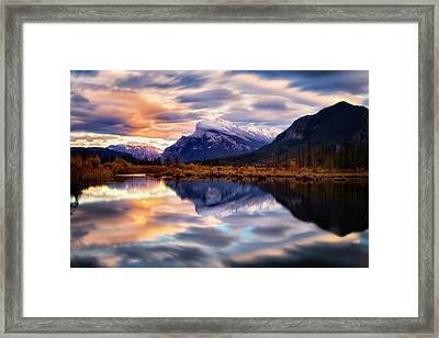 Natural Mirror Framed Print