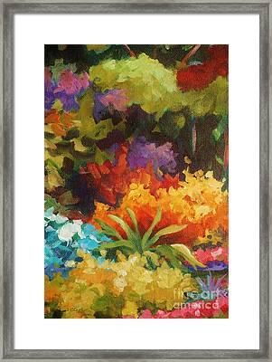 Natural Radiance Framed Print