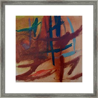 Natural Rythms Framed Print