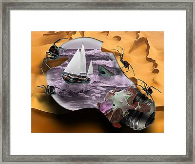 Natural Selection Framed Print by Solomon Barroa