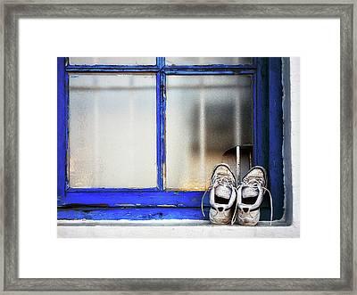Natural Venting Framed Print by Mikel Martinez de Osaba