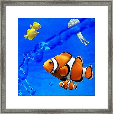 Nature 2 Of 4 Framed Print by Bibi Romer