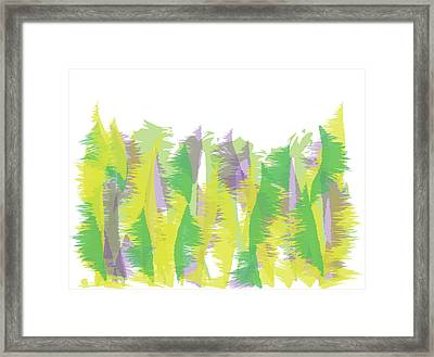Nature - Abstract Framed Print