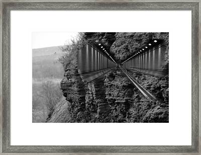 Nature And Technology Framed Print by Gerlinde Keating - Galleria GK Keating Associates Inc