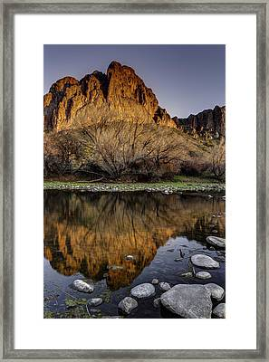 Nature At Its Softest Framed Print