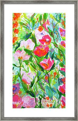 Nature Dance Framed Print by Beth Saffer