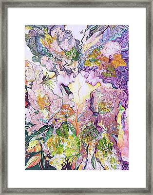 Nature Fairies Framed Print