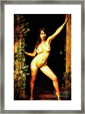 Nature Girl By Mary Bassett Framed Print