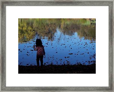 Nature Girl Framed Print by Lyle Hatch