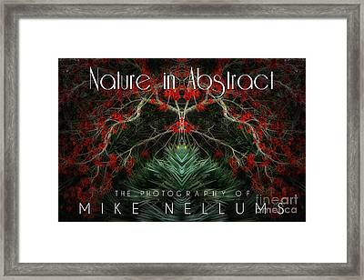 Nature In Abstract Coffee Table Book Cover Framed Print
