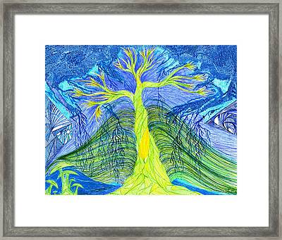 Nature In Chaos Framed Print