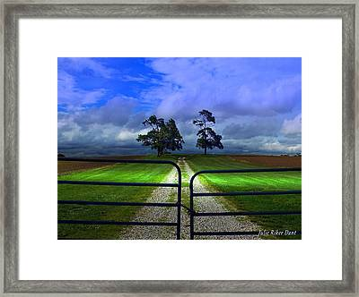 Nature Inaccessible Framed Print by Julie Dant