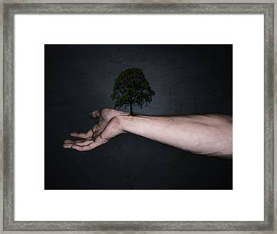 Nature Inside Me Framed Print by Nicklas Gustafsson
