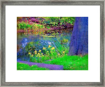 Nature Is Great Framed Print