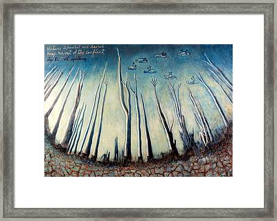 Nature Is Innocent And Sacred Framed Print by Daniel Gomez