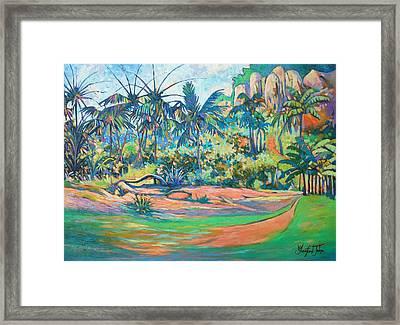 Nature Isle Framed Print