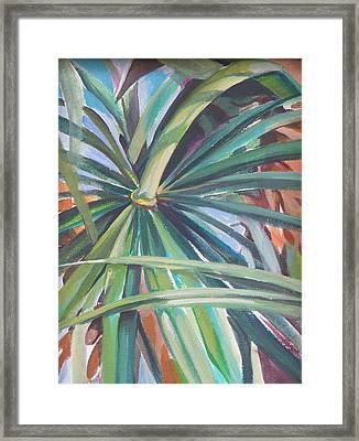 Nature Framed Print by Julie Orsini Shakher