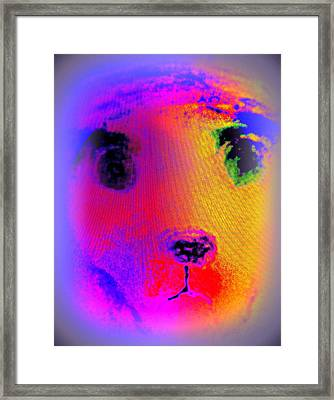 If Nature Lives In A Hole And Looks Out At You   Framed Print
