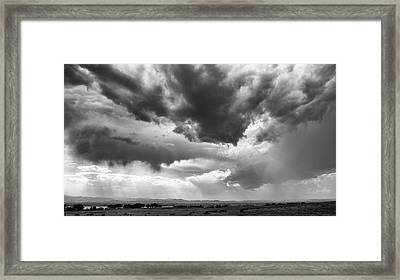 Framed Print featuring the photograph Nature Making Art by Monte Stevens