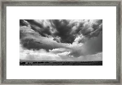 Nature Making Art Framed Print