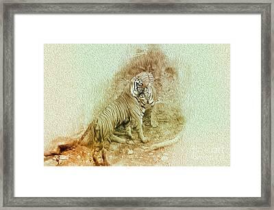 The Real World Framed Print by Manjot Singh Sachdeva