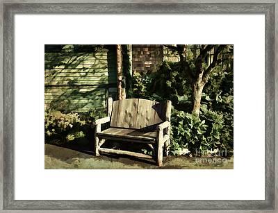 Nature - Peacefulness  Framed Print by Judy Palkimas