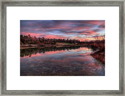 Nature Reserved Framed Print by John Loreaux