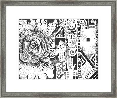 Nature Rules Aka That Which Remains Framed Print