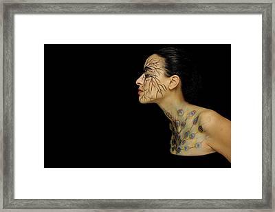 Nature Runs Through My Veins Framed Print
