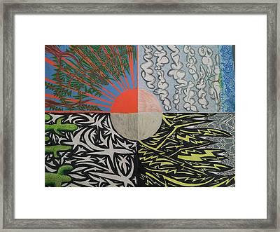 Nature Seven Framed Print