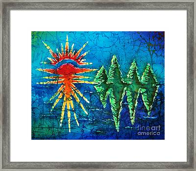 Nature Framed Print by Sue Duda