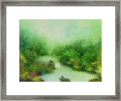 Nature Symphony Framed Print by Hannibal Mane