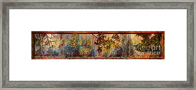 Framed Print featuring the photograph Nature Tapestry 1997 by Padre Art