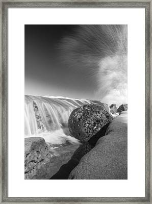 Nature Throws A Gutter Ball 1 Framed Print by Scott Campbell
