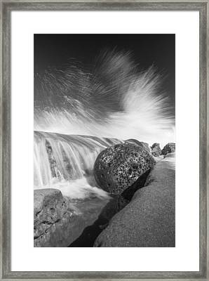 Nature Throws A Gutter Ball 2 Framed Print by Scott Campbell