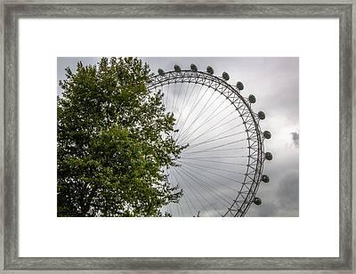 Nature Vs Manmade Framed Print by Matthew Rattcliff