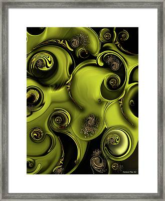 Nature Vs Work Framed Print
