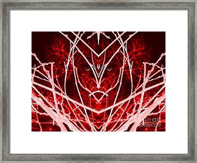 Nature Warrior Framed Print