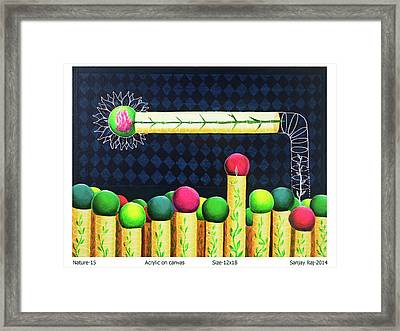Nature_15 Framed Print by Sanjay Kumar