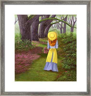 Nature's Archway Framed Print