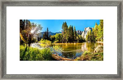 Nature's Awakening Framed Print by Az Jackson